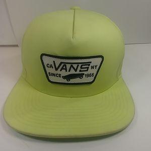 Vans Since 1966 Bright Yellow Baseball Cap